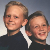 Steven and Brandon, ages 9 and 7